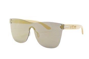 59 North Wheels - Okulary przeciwsłoneczne (Bez oprawek) / Złoto czarne