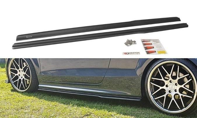 Dokładki progów Maxton Audi TT S / TT S-Line 8J (czarny mat)