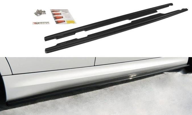 Dokładki progów Maxton BMW 3 E90/91 M-Pack (czarny połysk)