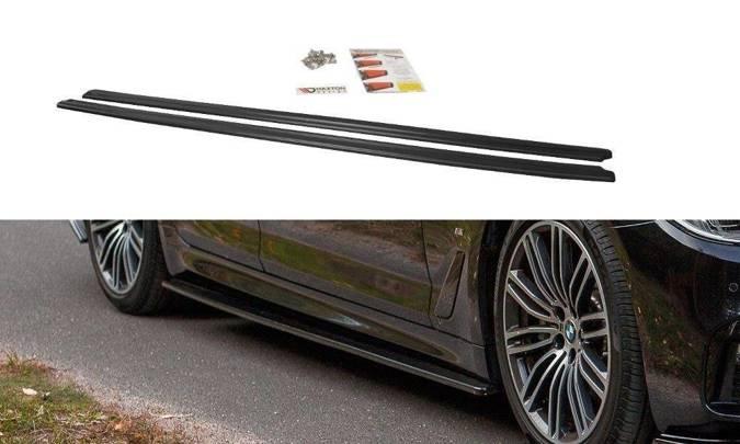Dokładki progów Maxton BMW 5 G30 / G31 M-Pack (carbon look)