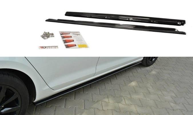 Dokładki progów Maxton Volkswagen Golf MK7 Standard (czarny mat)