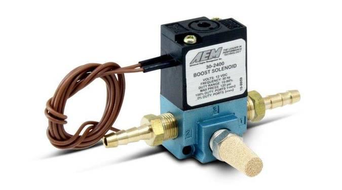 Elektrozawór Boost Control AEM ELECTRONICS