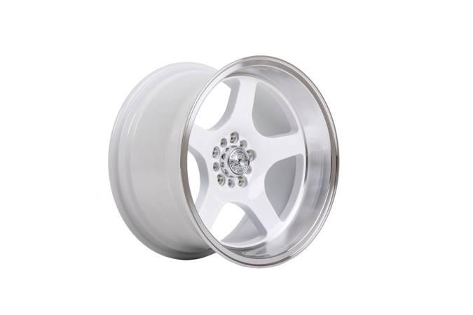 "Felgi aluminiowe 17"" 59 North Wheels D-004 17x8,5 ET10 5x100/108 White/polished"