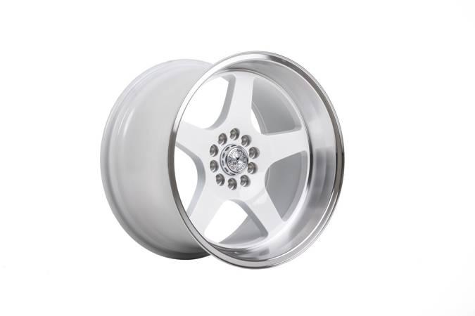 "Felgi aluminiowe 18"" 59 North Wheels D-004 18x11 ET15 5x100/108 White/polished"