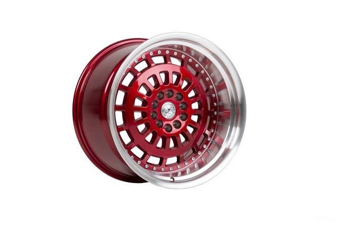 "Felgi aluminiowe 18"" 59 North Wheels D-007 18x9,5 ET20 5x114,3/120 Candyred/polished"