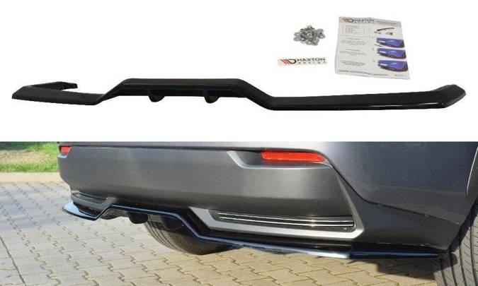 Splitter tylny srodkowy Maxton Lexus NX MK1 H (z dyfuzorem) (czarny połysk)