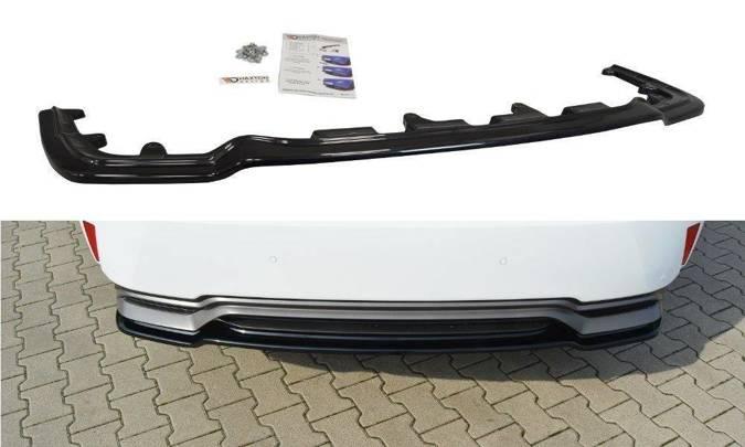 Splitter tylny srodkowy Maxton Lexus RX MK4 H (bez dyfuzora) (czarny połysk)