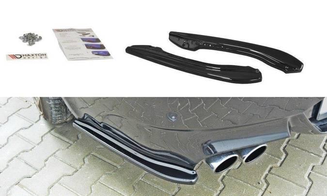 Splittery tylne BMW M6 E63 (czarny połysk)