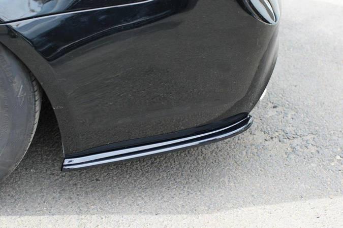 Splittery tylne boczne Maxton BMW 3 E91 M-Pack Polift (czarny mat)
