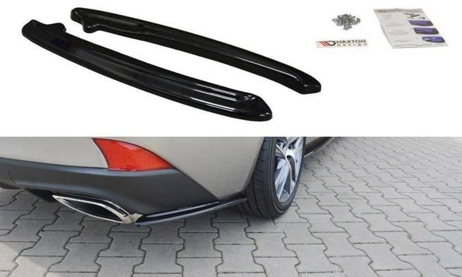 Splittery tylne boczne Maxton Lexus IS MK3 Polift T (carbon look)