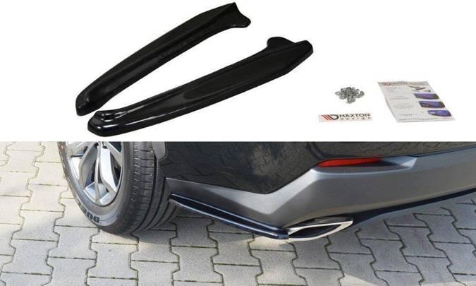 Splittery tylne boczne Maxton Lexus NX MK1 T (czarny połysk)