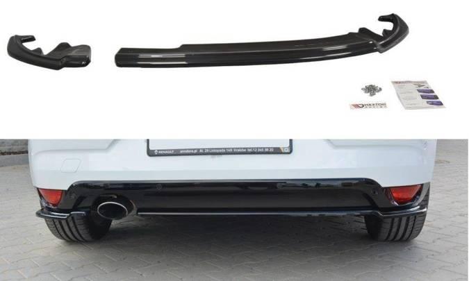 Splittery tylne boczne Maxton Renault Megane MK4 Hatchback (czarny połysk)